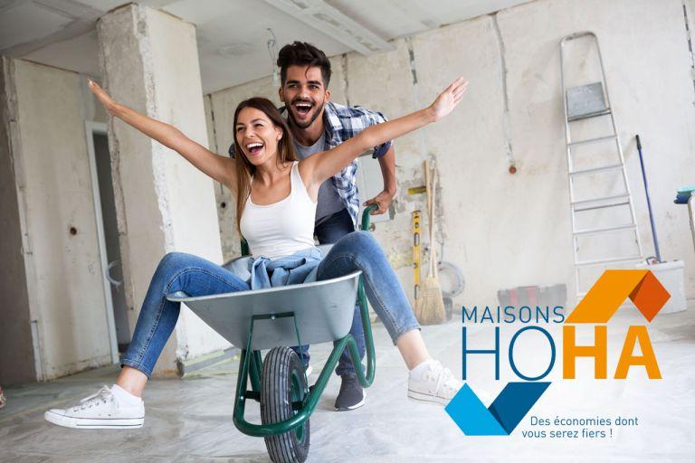 Maisons d'en France 01 : construction de votre maison individuelle HOHA, la maison économique prête à finir