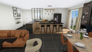 Maison à vendre : PROJET DE CONSTRUCTION SAINT MAURICE DE GOURDANS, Maisons d'en France 01
