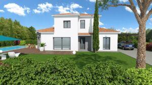 Modèle de maison personnalisable CALADE, Maisons d'en France 01