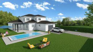 Modèle de maison personnalisable CANON, Maisons d'en France 01