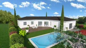 Modèle de maison personnalisable CARRASCO, Maisons d'en France 01