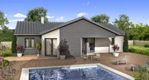 Modèle de maison personnalisable Corail, Maisons d'en France 01