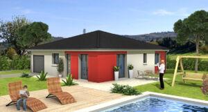 Modèle de maison personnalisable CUBO, Maisons d'en France 01