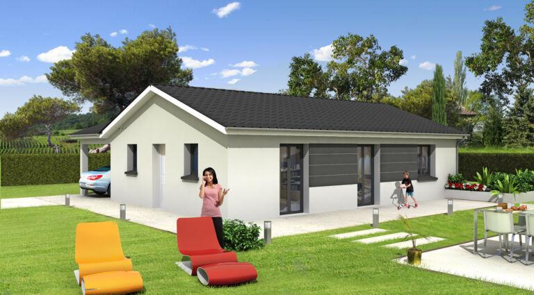 Photo 1 : FIRST - Maisons d'en France 01 Meximieux