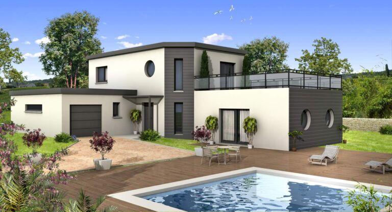 Photo 1 : La 155 m² - Maisons d'en France 01 Meximieux
