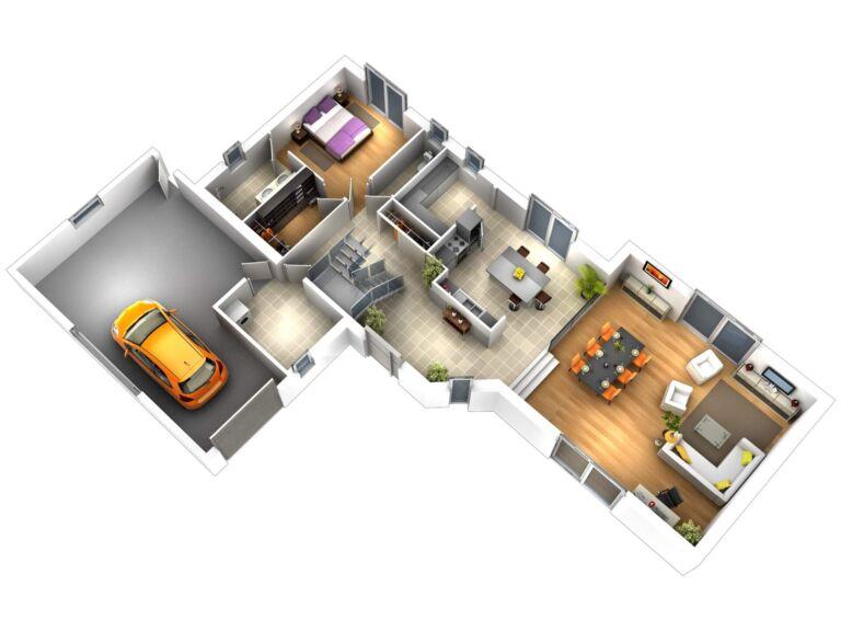 Photo 2 : La 155 m² - Maisons d'en France 01 Meximieux