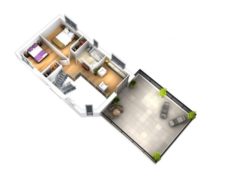 Photo 3 : La 155 m² - Maisons d'en France 01 Meximieux