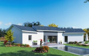 Modèle de maison personnalisable Maldives, Maisons d'en France 01