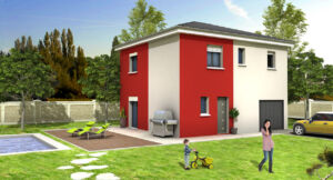 Modèle de maison personnalisable MIKADO, Maisons d'en France 01