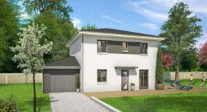 Modèle de maison personnalisable Pensée, Maisons d'en France 01