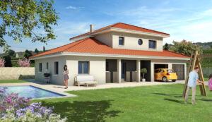 Modèle de maison personnalisable Sei, Maisons d'en France 01