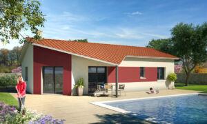 Modèle de maison personnalisable Tre, Maisons d'en France 01