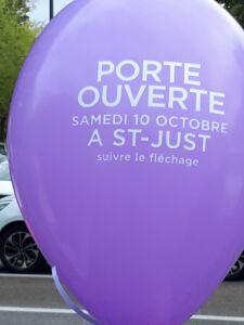 PORTE OUVERTE operation champ de foire, Maisons d'en France 01