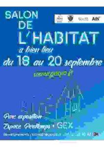 Salon Habitat à Gex, Maisons d'en France 01