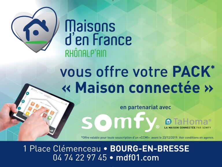 Photo 1 : Votre pack «Maison connectée» offert - Maisons d'en France 01 Meximieux