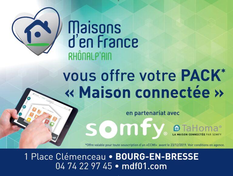 Photo 2 : Votre pack «Maison connectée» offert - Maisons d'en France 01 Meximieux
