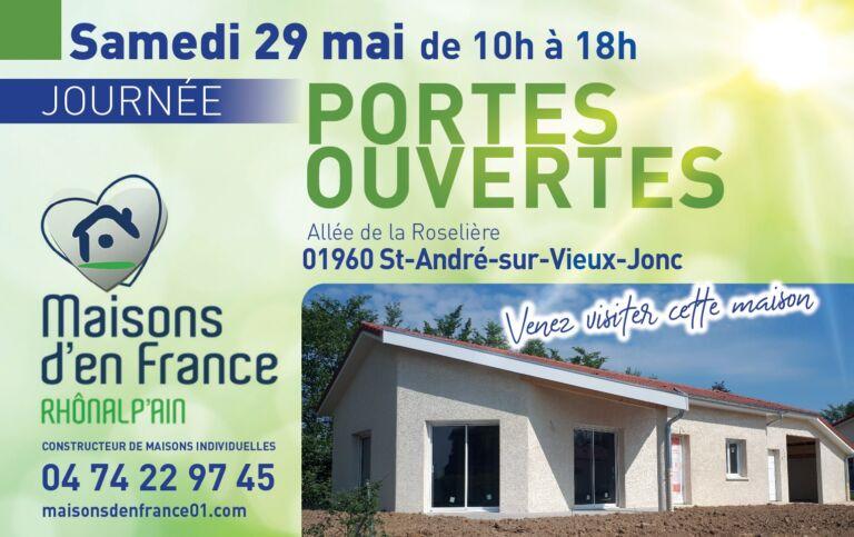 Photo 2 : PORTES OUVERTES ST ANDRE SUR VIEUX JONC - Maisons d'en France 01 Meximieux