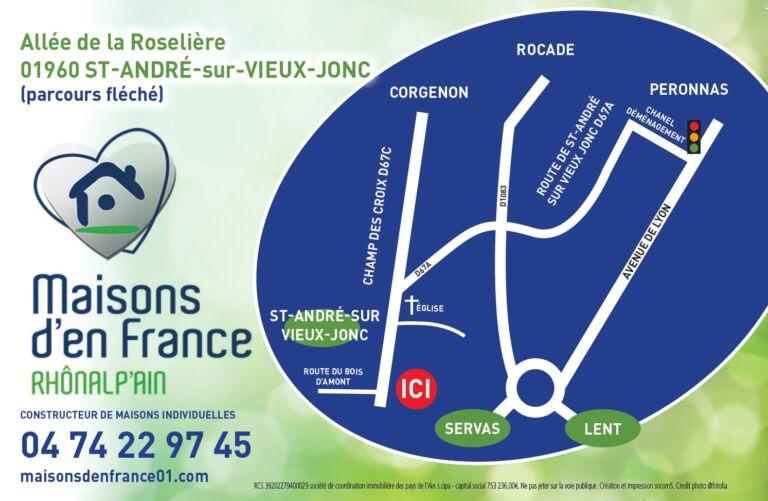 Photo 3 : PORTES OUVERTES ST ANDRE SUR VIEUX JONC - Maisons d'en France 01 Meximieux
