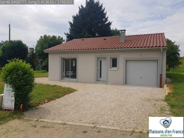 Photo 1 : maison a Jujurieux - Maisons d'en France 01 Meximieux